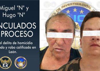 Asesinos de cuentahabiente en León, ya están formalmente presos