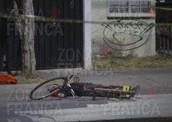 De un disparo en la cabeza, asesinan a ciclista en Villas de la Luz