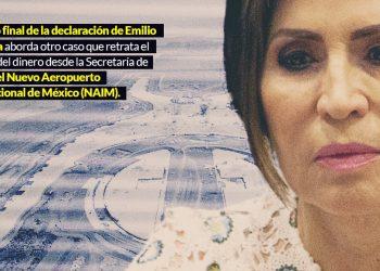 Cómo robar 400 millones: Peña, Rosario y otros de primer nivel le rascaron al NAIM, según Zebadúa