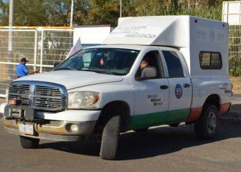 Para apoyar a Tabasco, Salud envía dos unidades médicas móviles